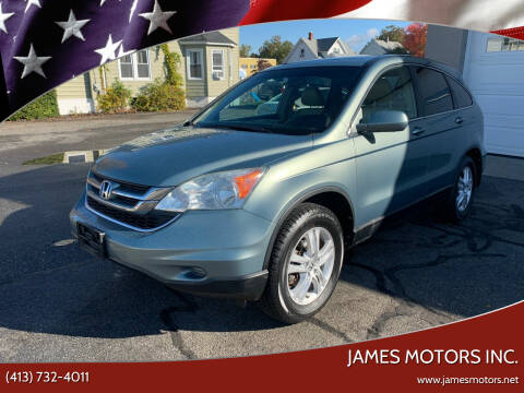 2010 Honda CR-V for sale at James Motors Inc. in East Longmeadow MA