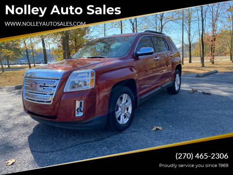 2013 GMC Terrain for sale at Nolley Auto Sales in Campbellsville KY