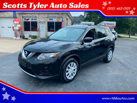2016 Nissan Rogue for sale at Scotts Tyler Auto Sales in Wilmington IL