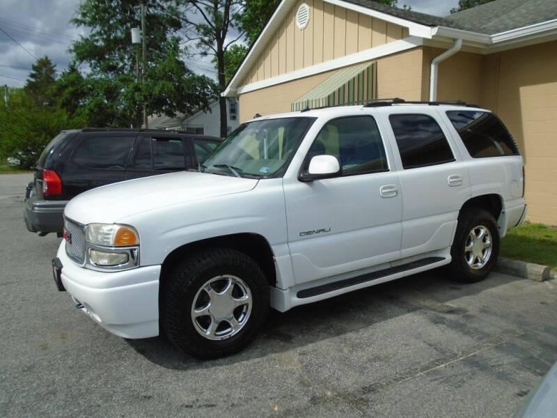 2003 GMC Yukon for sale at Ridetime Auto in Suffolk VA