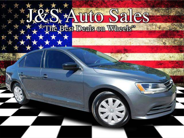2016 Volkswagen Jetta for sale at J & S Auto Sales in Clarksville TN