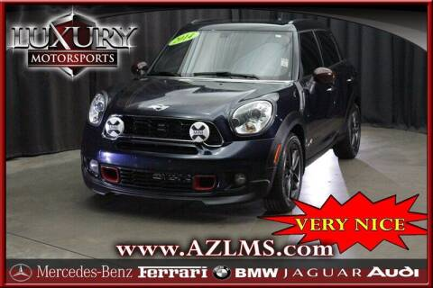 2014 MINI Countryman for sale at Luxury Motorsports in Phoenix AZ