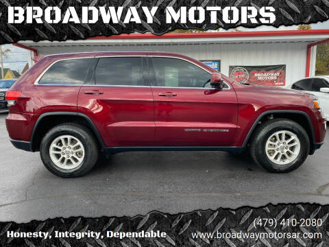 2018 Jeep Grand Cherokee for sale at BROADWAY MOTORS in Van Buren AR