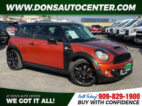 2012 MINI Cooper Hardtop for sale at Dons Auto Center in Fontana CA
