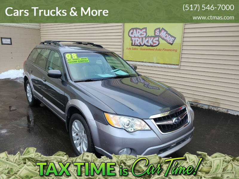 2008 Subaru Outback for sale at Cars Trucks & More in Howell MI