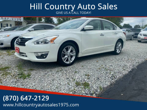 2013 Nissan Altima for sale at Hill Country Auto Sales in Maynard AR