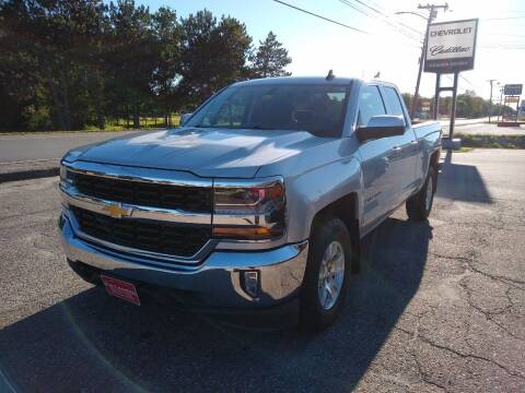 2017 Chevrolet Silverado 1500 for sale at KATAHDIN MOTORS INC /  Chevrolet Sales & Service in Millinocket ME