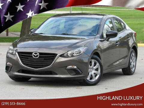 2014 Mazda MAZDA3 for sale at Highland Luxury in Highland IN