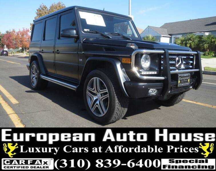 2014 Mercedes-Benz G-Class for sale at European Auto House in Los Angeles CA