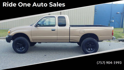 1999 Toyota Tacoma for sale at Ride One Auto Sales in Norfolk VA