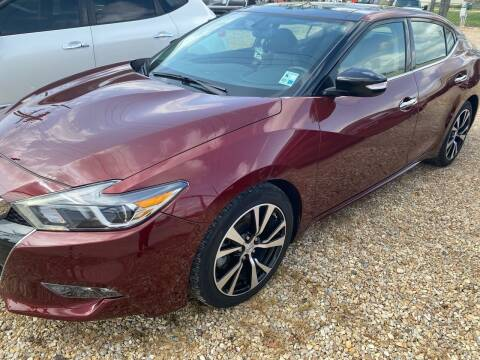 2017 Nissan Maxima for sale at Community Auto Specialist in Gonzales LA
