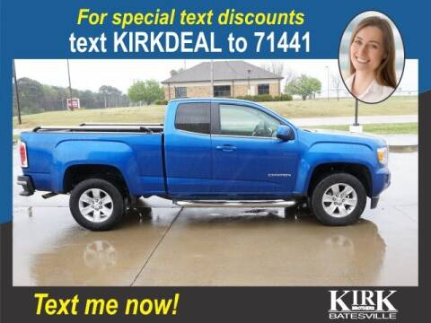 2018 GMC Canyon for sale at Kirk Brothers Batesville in Batesville MS