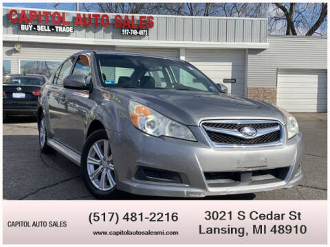2011 Subaru Legacy for sale at Capitol Auto Sales in Lansing MI