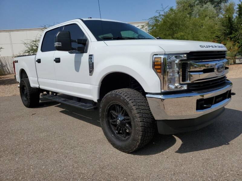 2019 Ford F-250 Super Duty for sale at AZ WORK TRUCKS AND VANS in Mesa AZ