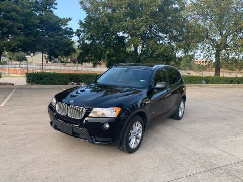 2013 BMW X3 for sale at Z AUTO MART in Lewisville TX