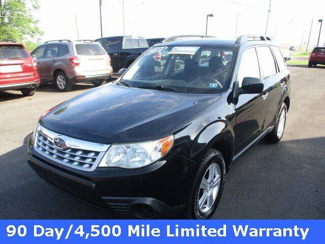 2012 Subaru Forester for sale at FINAL DRIVE AUTO SALES INC in Shippensburg PA