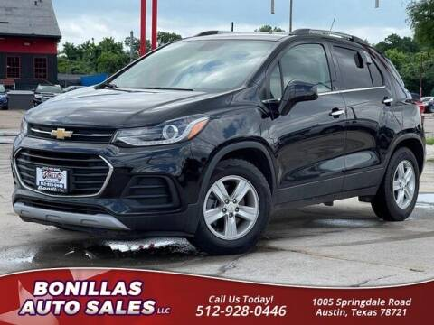 2019 Chevrolet Trax for sale at Bonillas Auto Sales in Austin TX