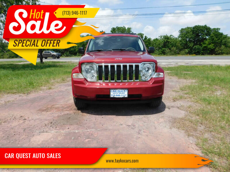 2010 Jeep Liberty for sale at CAR QUEST AUTO SALES in Houston TX