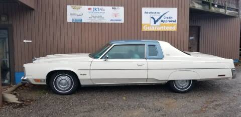 1977 Chrysler New Yorker for sale at J.R.'s Truck & Auto Sales, Inc. in Butler PA
