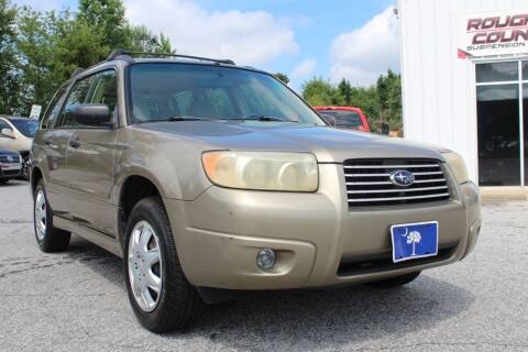2008 Subaru Forester for sale at UpCountry Motors in Taylors SC