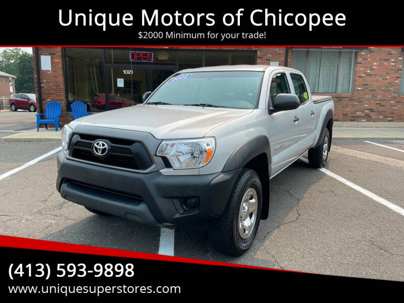 2012 Toyota Tacoma for sale at Unique Motors of Chicopee in Chicopee MA