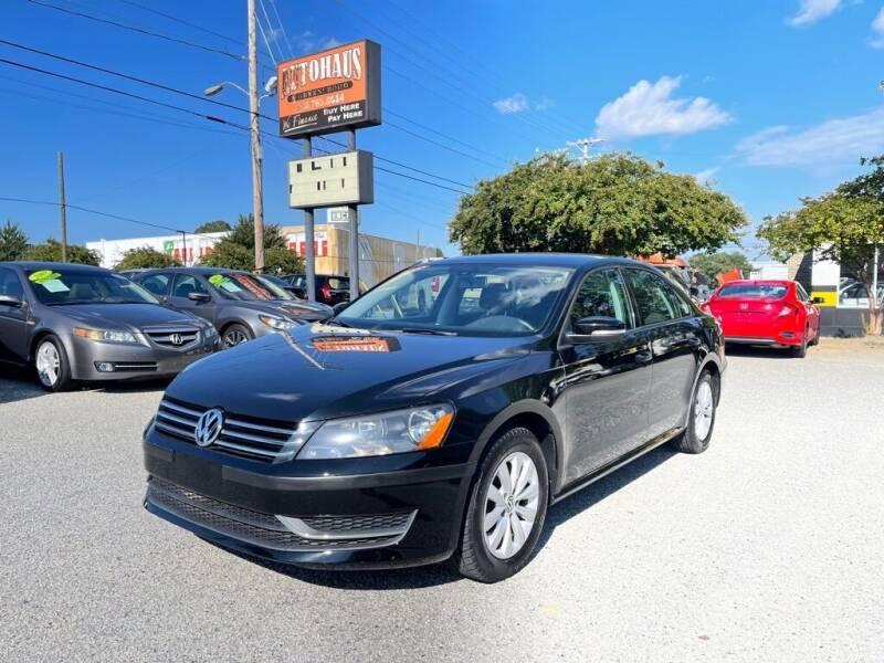 2013 Volkswagen Passat for sale at Autohaus of Greensboro in Greensboro NC