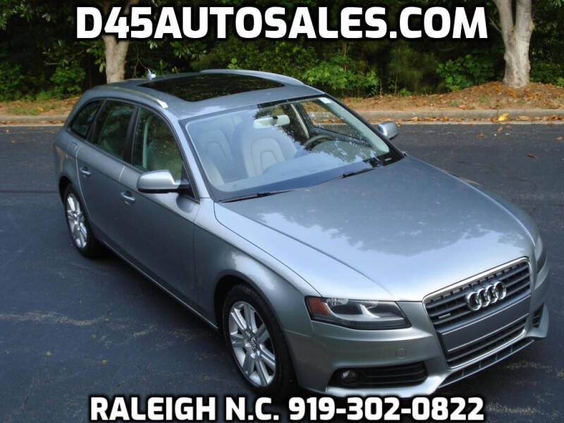 2010 Audi A4 for sale at D45 Auto Brokers in Raleigh NC