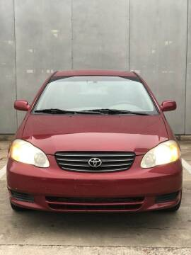 2003 Toyota Corolla for sale at Delta Auto Alliance in Houston TX