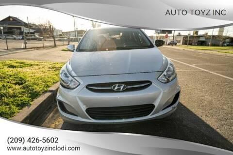 2016 Hyundai Accent for sale at Auto Toyz Inc in Lodi CA
