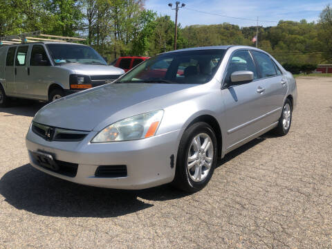 2007 Honda Accord for sale at Used Cars 4 You in Serving NY