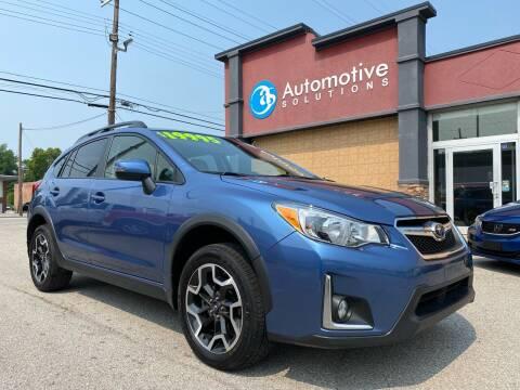 2016 Subaru Crosstrek for sale at Automotive Solutions in Louisville KY