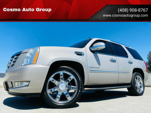 2008 Cadillac Escalade for sale at Cosmo Auto Group in San Jose CA