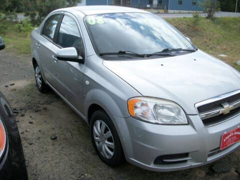 2008 Chevrolet Aveo for sale at Lloyds Auto Sales & SVC in Sanford ME