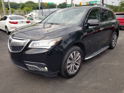 2014 Acura MDX for sale at Cedar Auto Group LLC in Akron OH