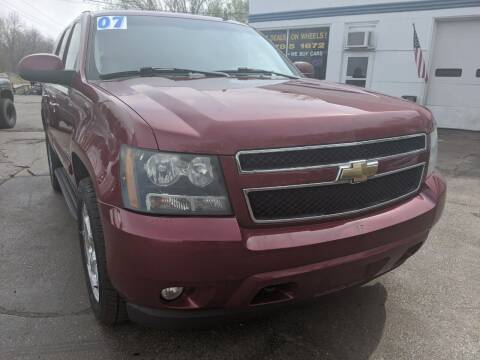 2007 Chevrolet Tahoe for sale at GREAT DEALS ON WHEELS in Michigan City IN