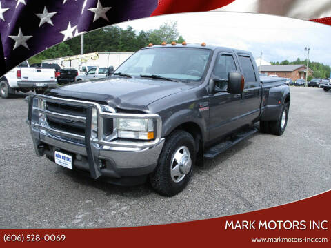 2004 Ford F-350 Super Duty for sale at Mark Motors Inc in Gray KY