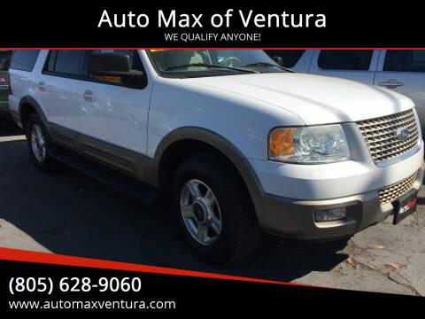 2003 Ford Expedition for sale at Auto Max of Ventura in Ventura CA
