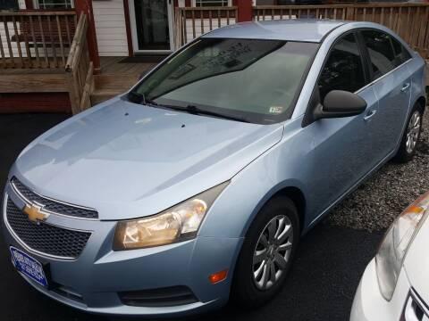 2011 Chevrolet Cruze for sale at Premier Auto Sales Inc. in Newport News VA