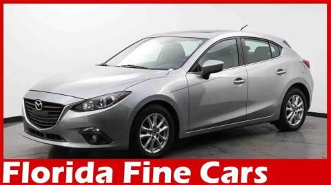 2016 Mazda MAZDA3 for sale at Florida Fine Cars - West Palm Beach in West Palm Beach FL