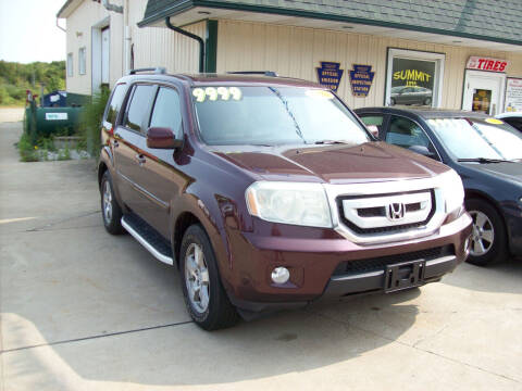 2010 Honda Pilot for sale at Summit Auto Inc in Waterford PA
