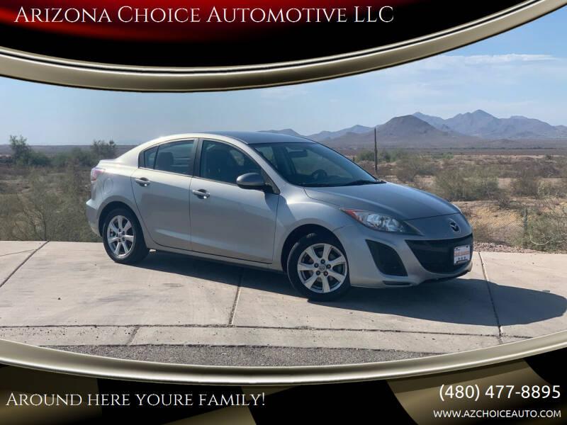 2011 Mazda MAZDA3 for sale at Arizona Choice Automotive LLC in Mesa AZ