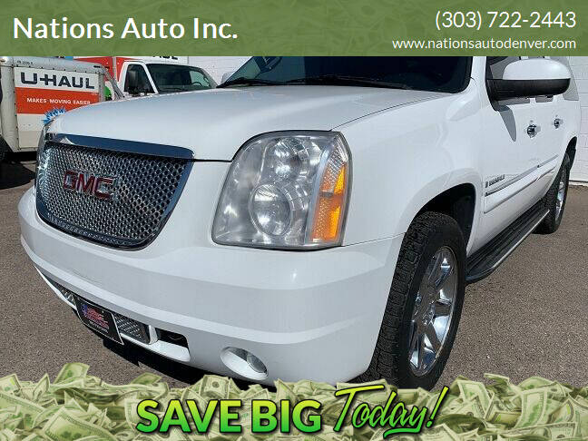 2008 GMC Yukon XL for sale at Nations Auto Inc. in Denver CO