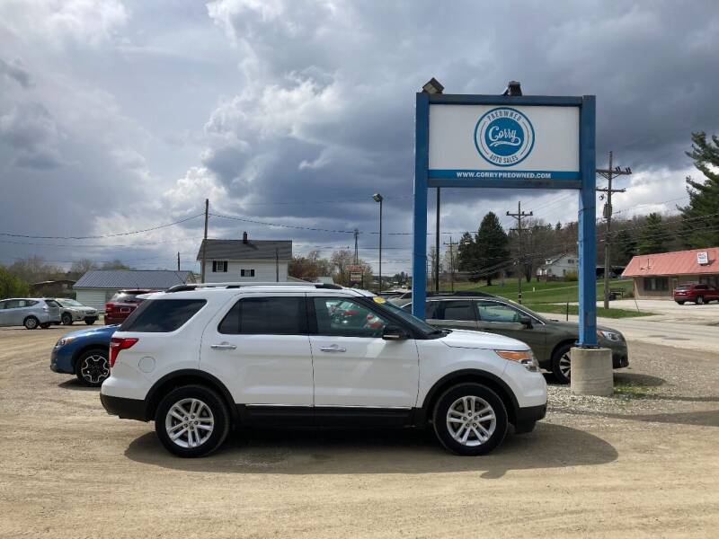 2015 Ford Explorer for sale at Corry Pre Owned Auto Sales in Corry PA