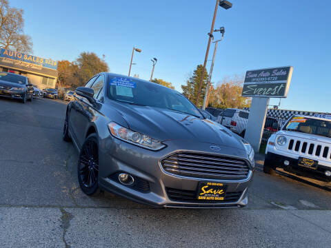 2014 Ford Fusion for sale at Save Auto Sales in Sacramento CA