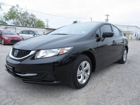 2015 Honda Civic for sale at Grays Used Cars in Oklahoma City OK
