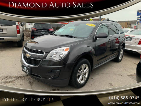 2013 Chevrolet Equinox for sale at Diamond Auto Sales in Milwaukee WI