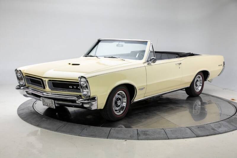 1965 Pontiac GTO for sale at Duffy's Classic Cars in Cedar Rapids IA