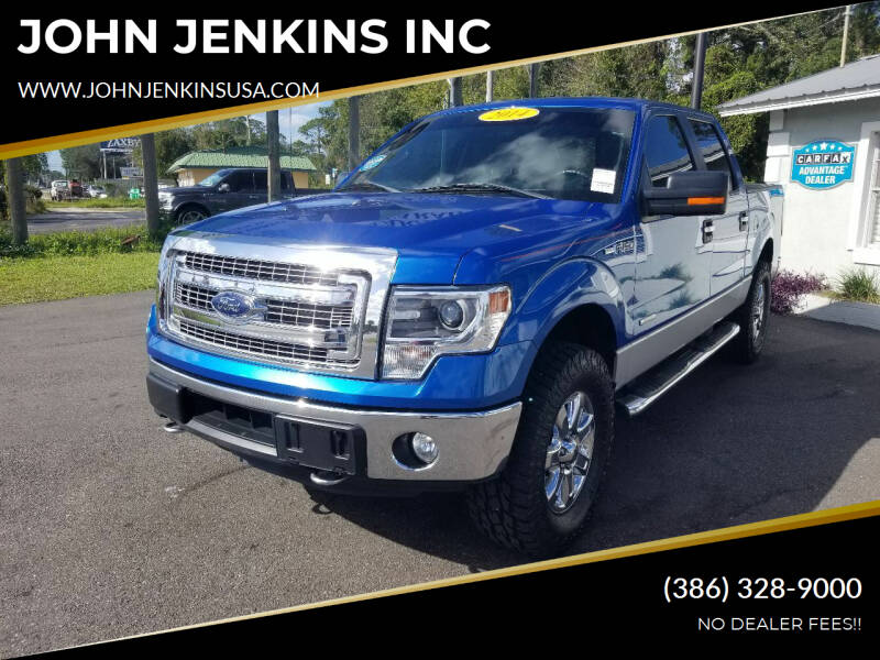 2014 Ford F-150 for sale at JOHN JENKINS INC in Palatka FL