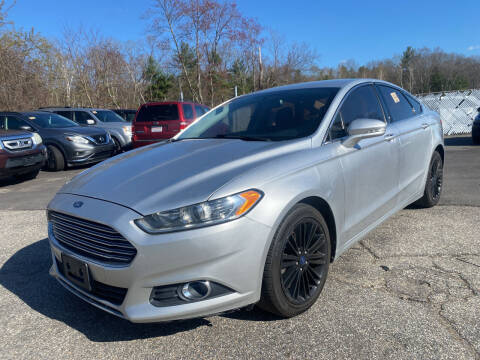 2014 Ford Fusion for sale at Royal Crest Motors in Haverhill MA