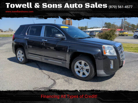 2012 GMC Terrain for sale at Towell & Sons Auto Sales in Manila AR